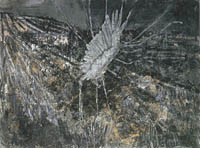 Anselm Kiefer-Wayland*s song (with wing) 1982, 280х380